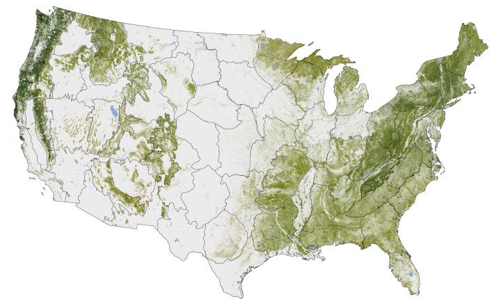 NASA map